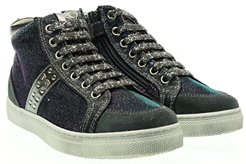 Nero Giardini Teen Sneakers Alte A631750F 226 (27 34) 34 Blu-Rosa ... 718fc1c444c