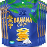 BANANA JOE Banana Chips Sea Salt, 6 x 46.8 g