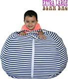 """Stuffed Animal Storage Bean Bag Chair 
