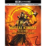 Mortal Kombat Legends: Scorpion#s Revenge (4K Ultra HD/Blu-ray/Digital)
