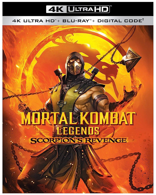 Amazon Com Mortal Kombat Legends Scorpion S Revenge 4k Ultra Hd