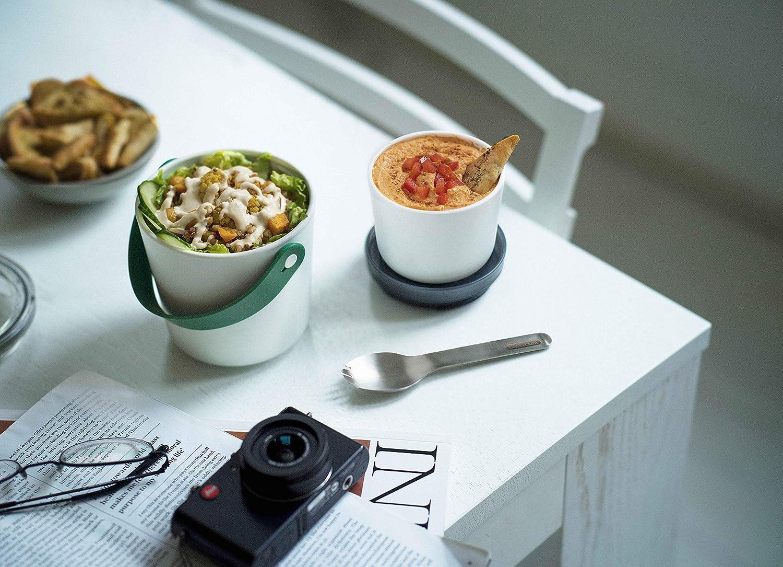 Black+Blum Lunch Pot Original Fiambrera a Prueba de Fugas Verde Oliva 900ml