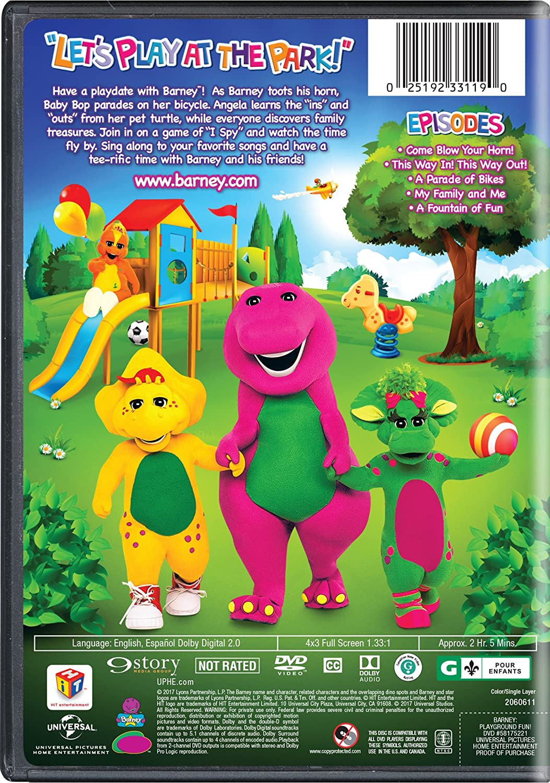 Barneys Outdoor Fun Dvd - Classy Lizards