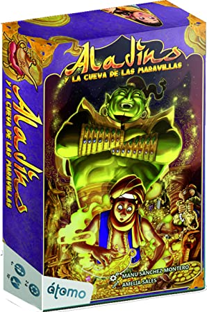 Átomo Games Aladino y la Cueva de Las Maravillas. Juego de Mesa ...