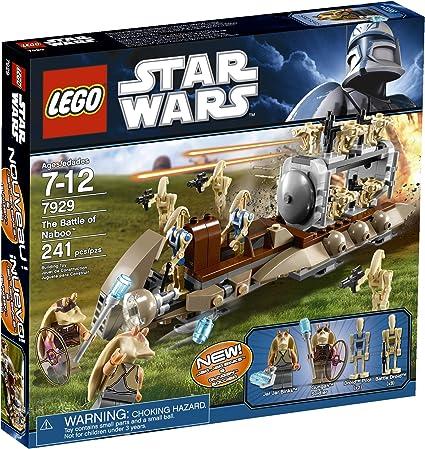 Lego Star Wars Minifigures 7929 Jar Jar Binks,Gungan Soldier Battle Droids