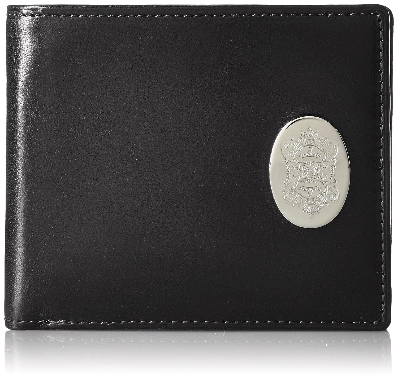 [オロビアンコユニーク] 二つ折り財布 メッタロ シリーズ OBU122016 B01DNQ32KW  ブラック