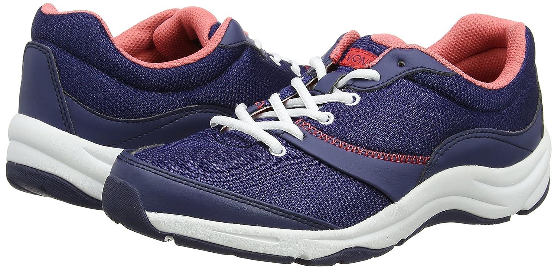 Vionic Kona Women's Orthotic Athletic Shoe B00OJAVDT4 9 B(M) US|Navy/Coral