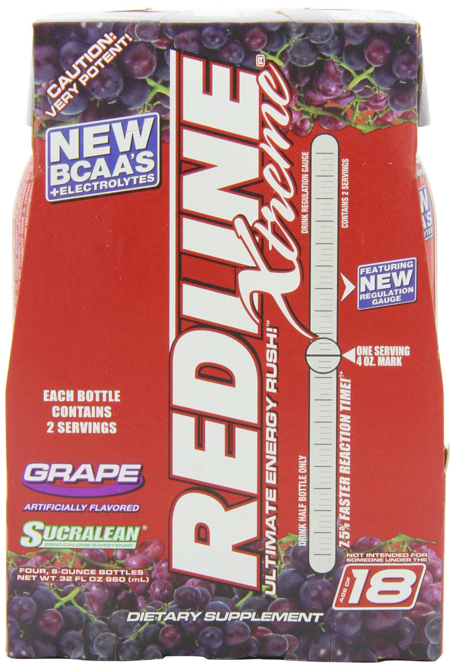 VPX Redline Extreme Grape 8oz, 24-Count