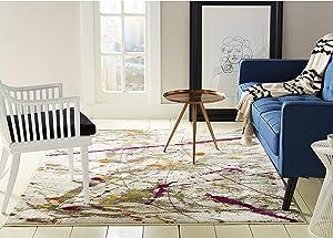 Home Dynamix 3368-999 Trina Trina Turk Tanja Amberly Modern Area Rug 7'10