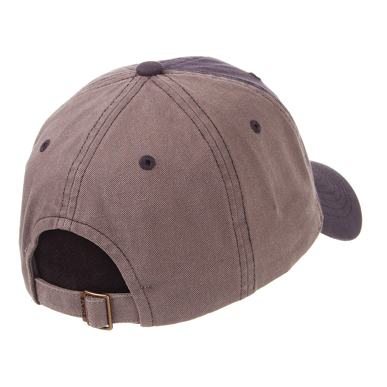 Adjustable Zephyr Mens Moonscape Relaxed Cap Grey//Team Color