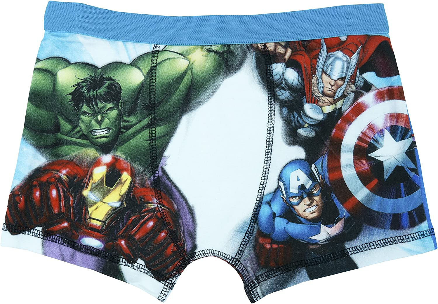 Age 4-10 Years Marvel Avengers Assemble Incredible Hulk Boys Boxer Shorts 128 cms 7-8 years