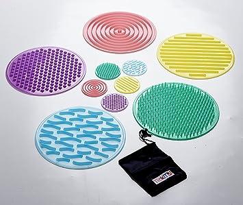 TickiT 54517 Conjunto de círculos sensoriales SiliShapes