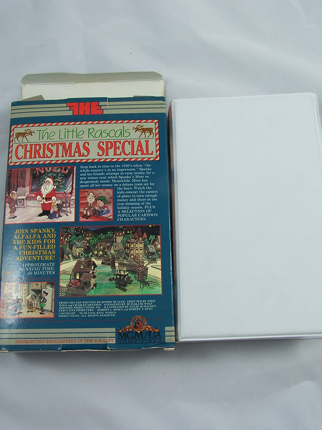 Amazon.com: The Little Rascals Christmas Special (Animated ...
