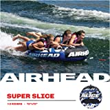 Airhead Super Slice Towable Tube for Three Riders