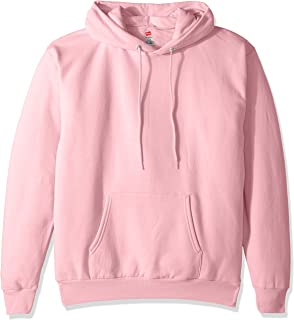 Hanes Homme OP170 Sweat à Capuche - Rose - Taille S Hanes Branded Printwear
