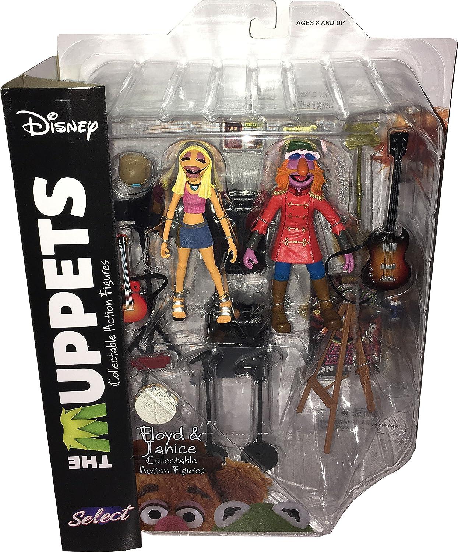 MUPPET SHOW Actionfiguren (Muppets Select) Wave 3: FLOYD & JANICE