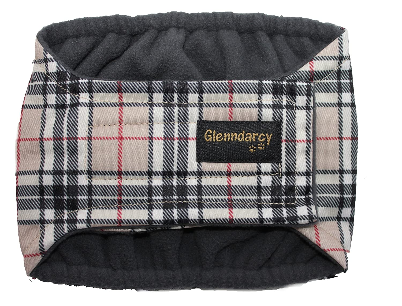 Glenndarcy Dog Pants Culotte d'incontinence pour chien mâle Taille M 40, 5-46 cm (16-18) Camel 5-46 cm (16-18) Camel Glenndarcy Ltd.