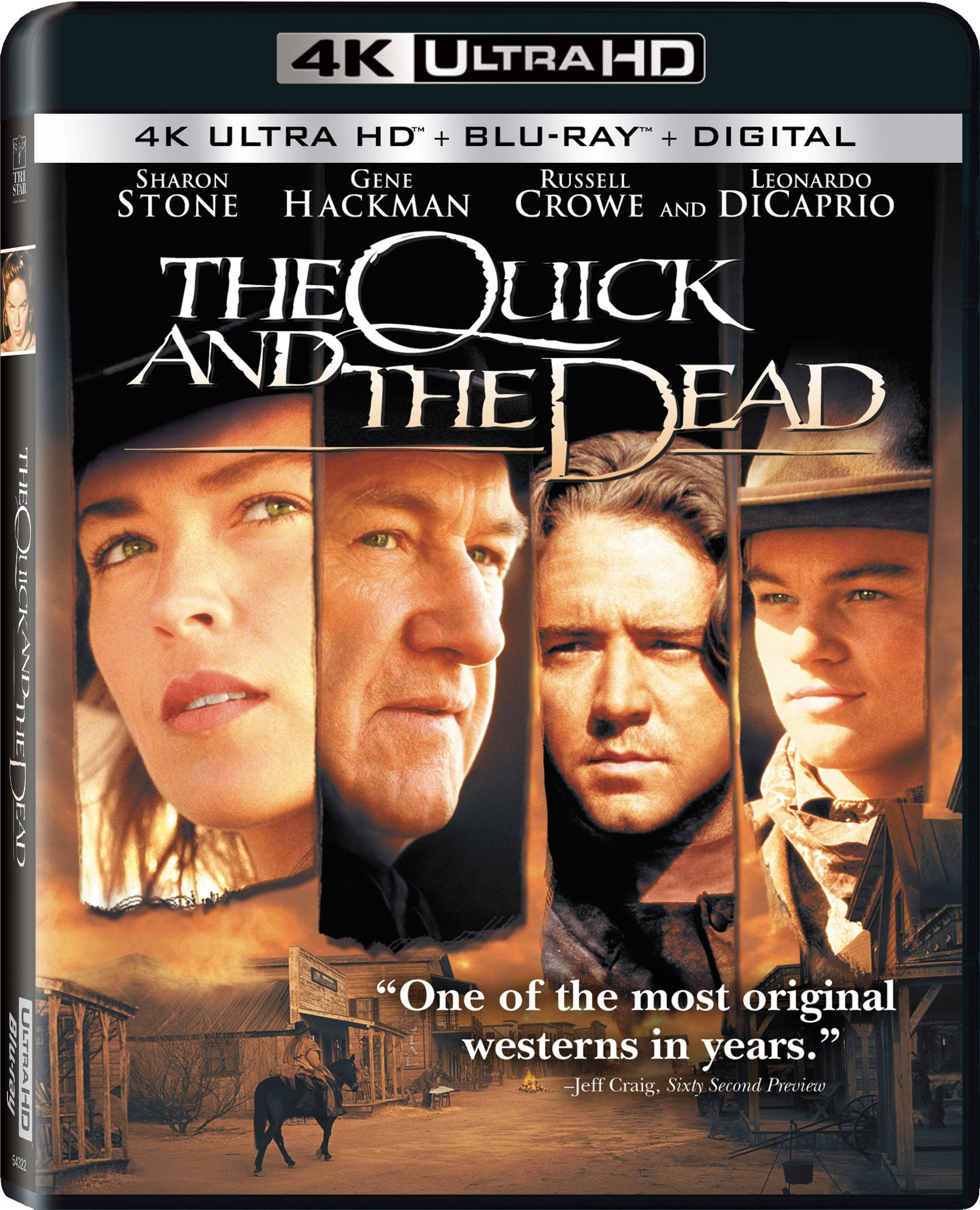 Blu-ray : The Quick And The Dead (With Blu-Ray, 4K Mastering, 2 Pack, Digital Copy, Widescreen)