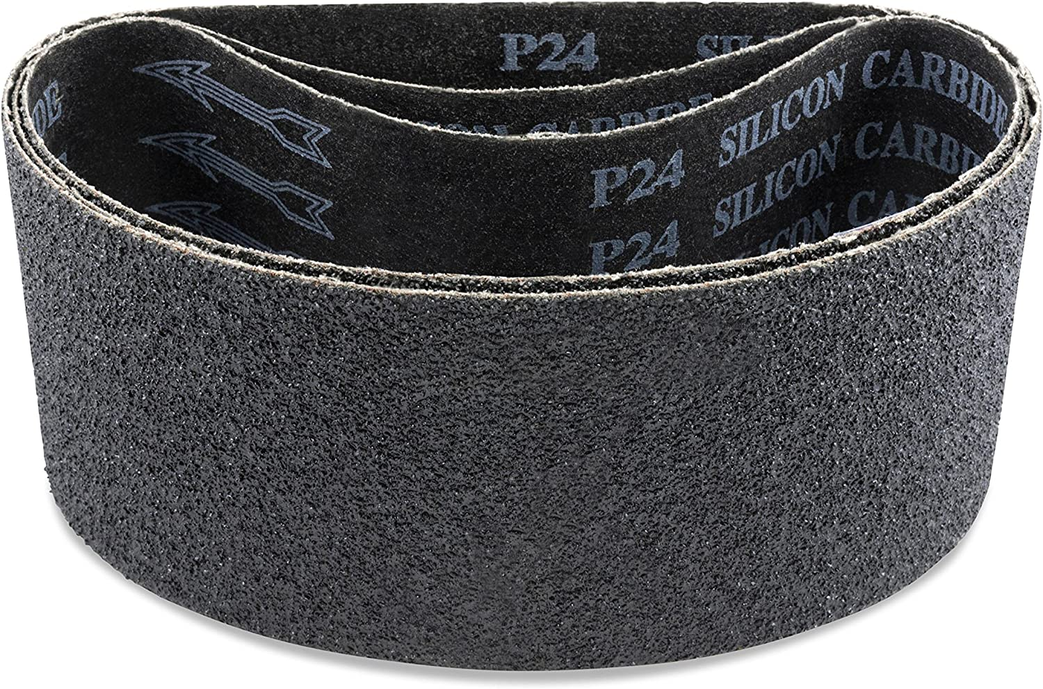 Brown 36 Grit VSM 253244 Abrasive Belt 1//4 Width Pack of 20 Cloth Backing Aluminum Oxide 12 Length Coarse Grade