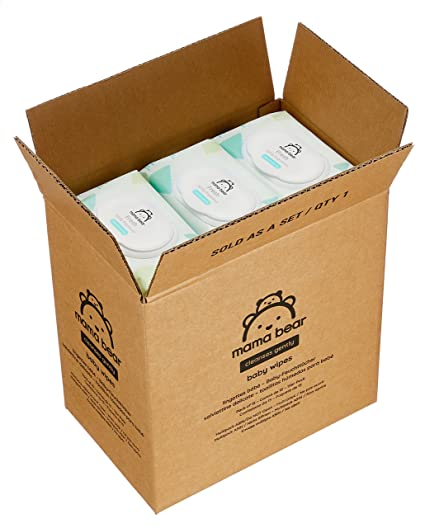 Mama Bear Fresh Toallitas Húmedas para Bebé - 15 Paquetes x 56 Toallitas (840 unidades