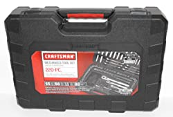 Craftsman 220 pc. Mechanics Tool Set with Case, # 36220 (Newest Version) Review