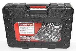 Craftsman 220 pc. Mechanics Tool Set with Case, # 36220 (Newest Version)