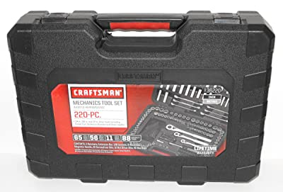 Craftsman 36220 220 – Piece Mechanics Tool Set with Case
