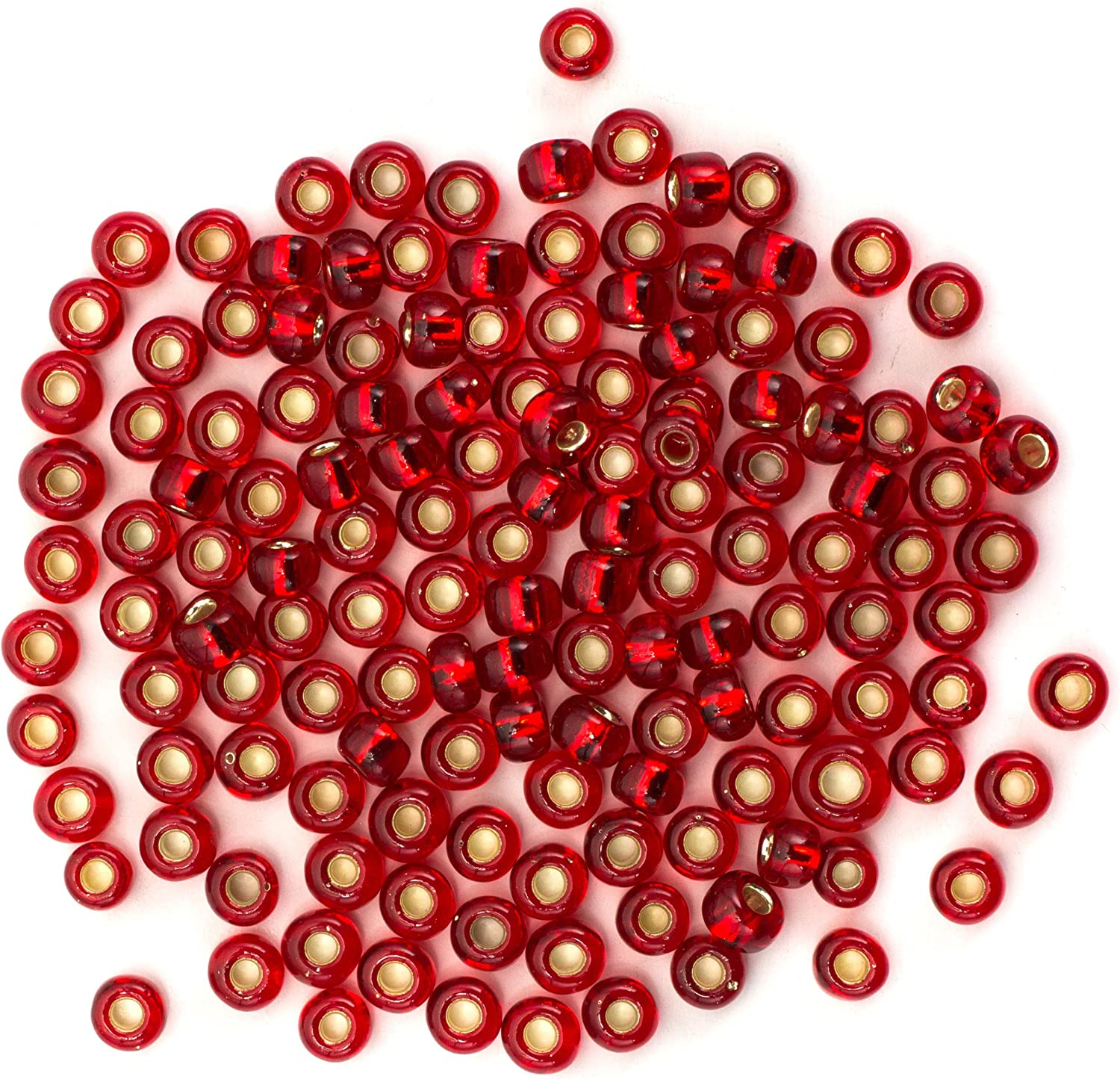 6//0 Czech Beads 10-Grams Glass Seed Beads PICK COLOR