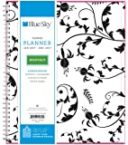 """Blue Sky 2017 Monthly Planner, Wire-O Binding, 8"""" x 10"""", Analeis (19570)"""