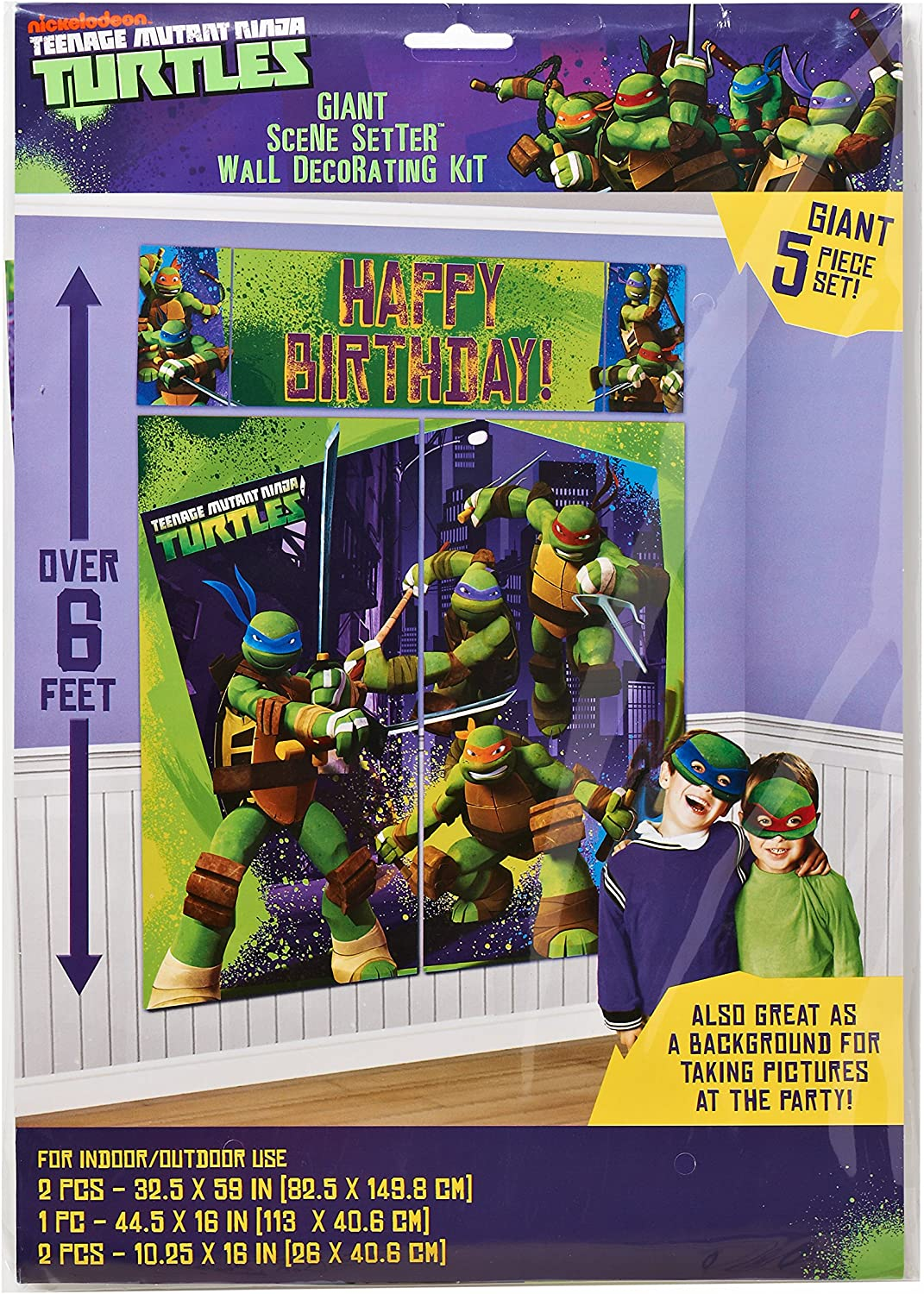 Amazon.com: American Greetings Tortuga Ninja Mutante ...