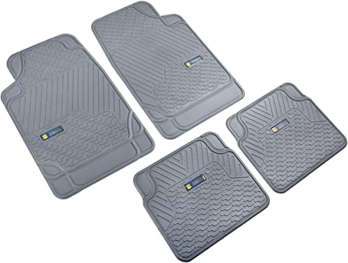Highland 4547900 Weather Fortress Gray Synthetic Rain Floor Mat – 4 Piece