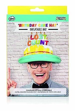 NPW tarta de cumpleaños hinchable de cumpleaños partido sombrero ...