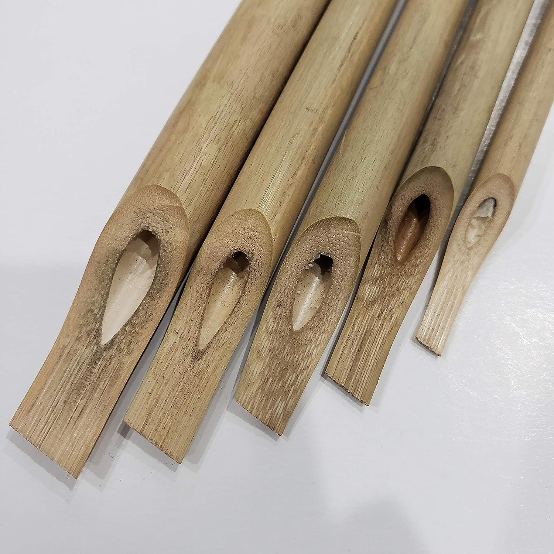 Amazon.com : Arabic Calligraphy Bamboo pens - Set of 5 pens ...