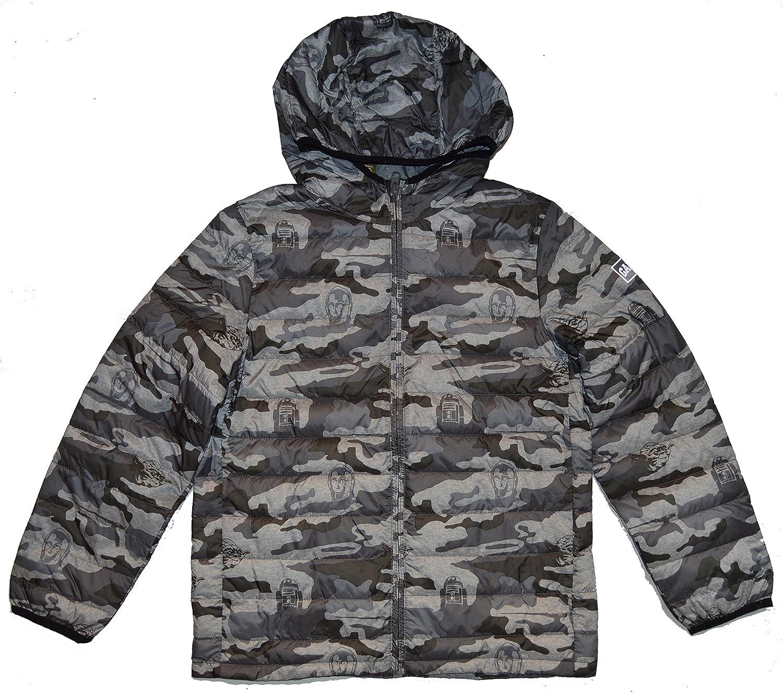 GAP Kids Star Wars Gray ColdControl Lite Jacket XXL 14 16
