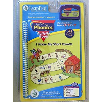I Know My Short Vowels LeapPad Phonics Book 2: Toys & Games