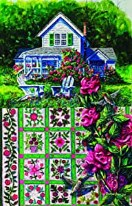 SUNSOUT INC Rose Sampler 1000pc Jigsaw Puzzle by Diane Phalen