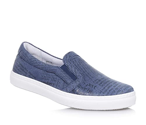CIAO BIMBI - Zapato azul, de cuero, la atención a cada detalle y capaz de combinar estilo, Niño, Niños-27: Amazon.es: Zapatos y complementos