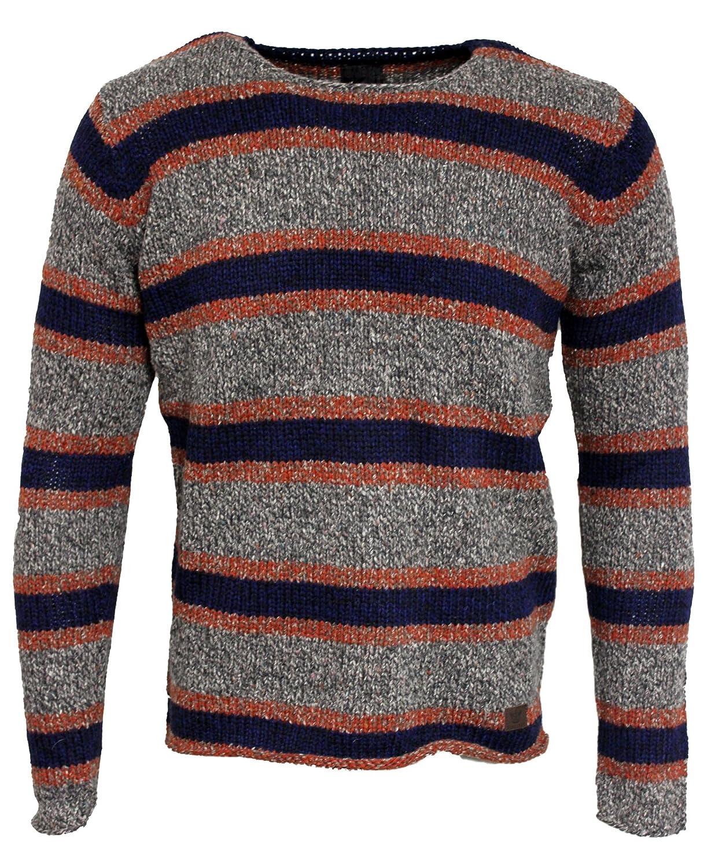 Mens Firetrap Morrow Winter Knitted Jumper Sweater Pullover