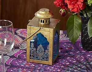 Kate Aspen Indian Jewel Lantern