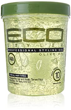 ECOCO Eco Style Gel, Olive 32 oz Pack of 6