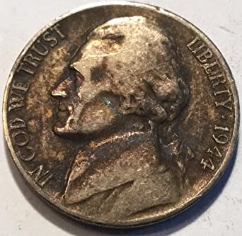 1944 S Jefferson Nickel Very Fine At Amazons Collectible Coins Store