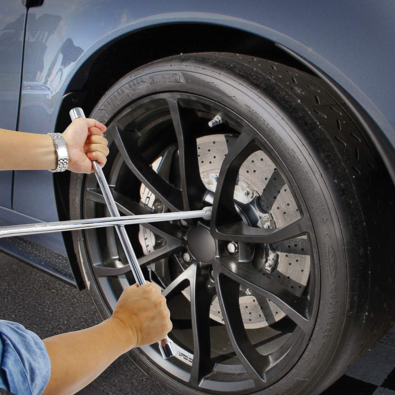 "Powerbuilt 940559 20"" Universal Lug Wrench: Automotive"