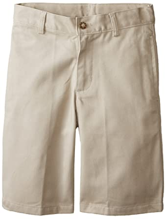 Amazon.com: Nautica Boys' Uniform Flat Front Twill Short: School ...