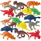 Prextex Box of Mini Dinosaurs (72 count) Best For Cake Toppers