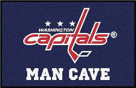 FANMATS NHL Washington Capitals Nylon Face 4X6 Plush Rug