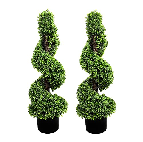 Topiary Spiral Trees