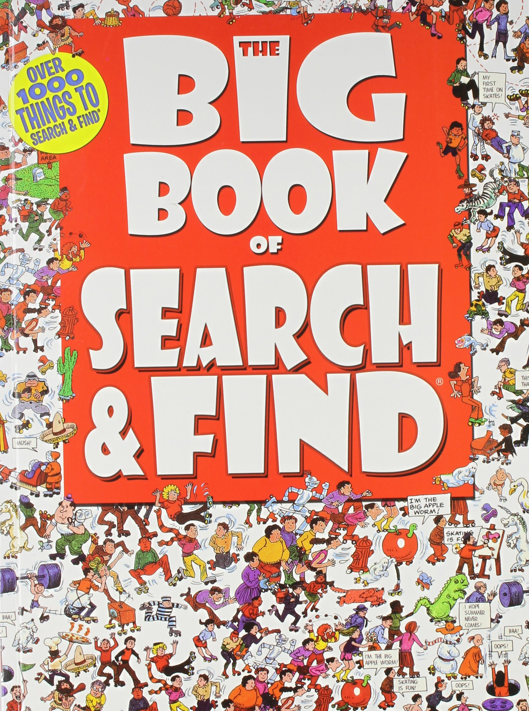 Read Online The Big Book of Search & Find (Children's Activity Book) PDF