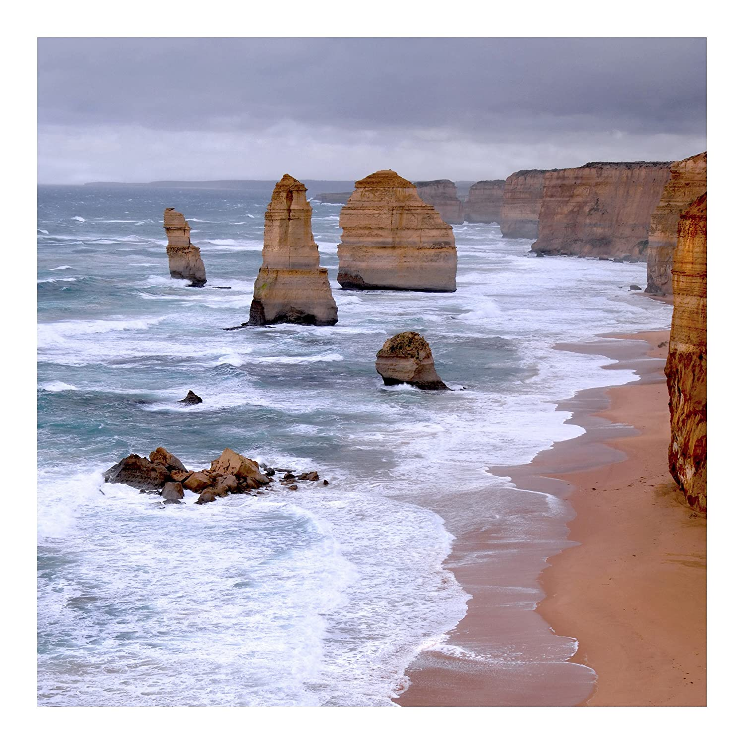 Non Woven Wallpaper Premium The 12 Apostles Mural Square