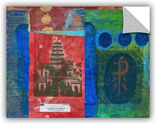 Elana Rays Art Appeelz Removable Graphic Wall Art 14 x 18