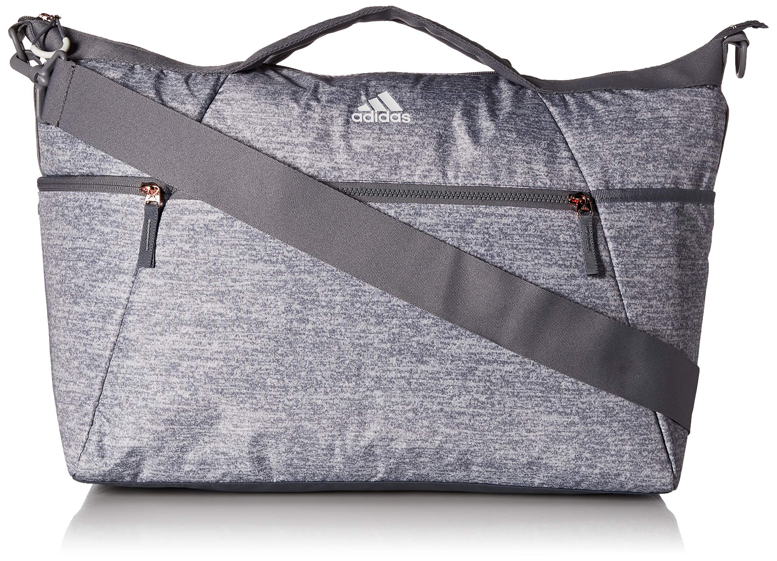adidas Studio III Duffel Bag, Light Jersey/Grey/Rose Gold, One Size